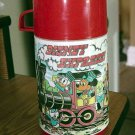 Vintage Walt Disney Express Train Aladdin Thermos Bottle #600365