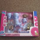 21 Pieces Blue Princess Tea Set For Two with Food New   #600253