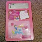 New Disney Princess 3 in 1 Message Center Mirror, Cork Board and Magnet Board #600579