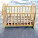 Small Simba Cream Color Rocker Doll Crib #600559