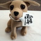 "6"" Plush Talking Taco Bell Chihuahua Dog Says ""Here Lizard Lizard Lizard"" #600662"