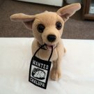 "6"" Plush Official Talking Taco Bell Chihuahua Dog Says ""Yeah, Drop The Chalupa""  #600664"