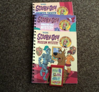 Scooby-Doo Miniature Golf Mystery, Museum Mystery and Haunted Theater for Story Reader #600675