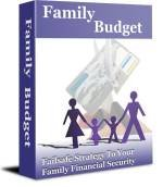 How to Set-Up a Family Budget ~ on Cd