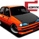 Daihatsu charade draw Car Tees