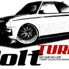 Dodge Colt TURBO 1984 2 draw Car Tees