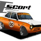Ford Escort Retro Car Tees