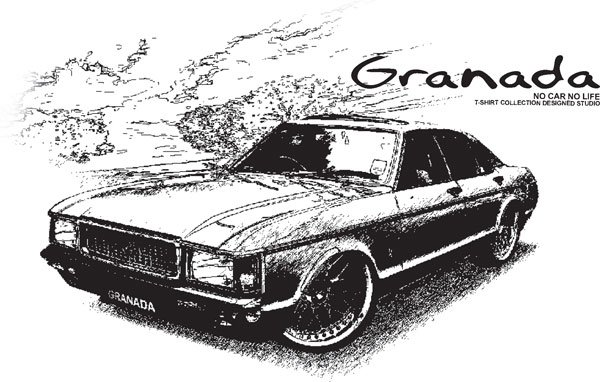 Ford granada Classic Car Tees