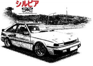 Nissan Silvia S12 Car Tees