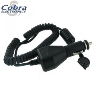 COBRA DC AUTO POWER CORD FOR USE WITH GPS 100, 500 AND 1000