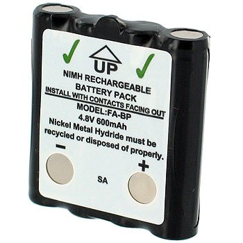 COBRA  HIGH CAPACITY RECHARGEABLE NiMH BATTERY