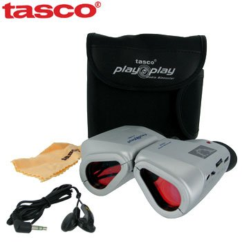 TASCO AM/FM RADIO BINOCULARS