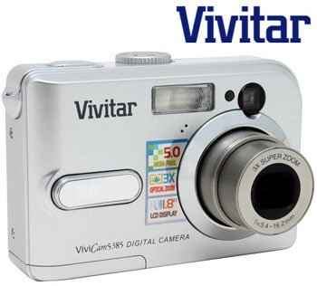 VIVITAR ViviCam 5 MEGAPIXEL DIGITAL CAMERA