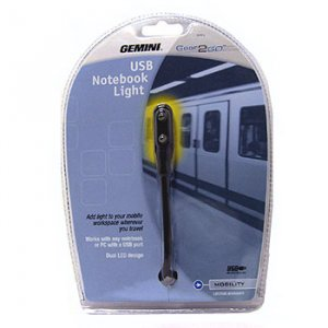 GEMINI  USB LED NOTEBOOK LIGHT