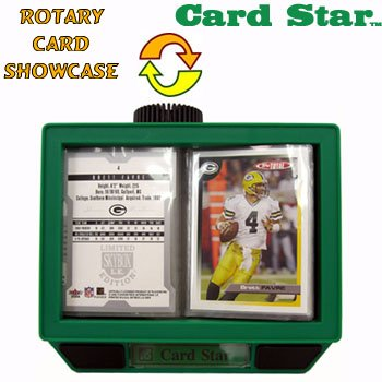 CARD STAR  ROTARY CARD SHOWCASE