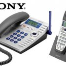 SONY  2.4GHz CORDLESS PHONE SYSTEM