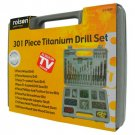 AS SEEN ON TV 301 PIECE TITANIUM DRILL SET