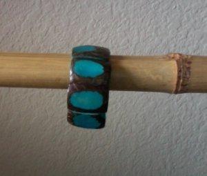 Stylish Blue Chunky Bracelet