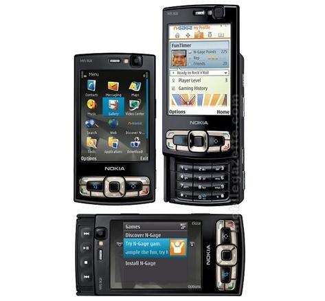 Nokia N95 Nseries (8GB) Mobile Phone - W.Black