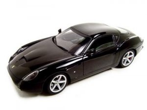 Ferrari 575 GTZ Zagato Black Elite 1:18 Diecast Model