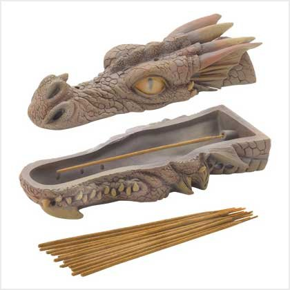 DRAGON'S HEAD INCENSE BURNER