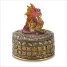 RED DRAGON TRINKET BOX