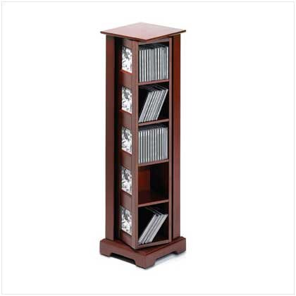SPINNING PHOTO FRAME CD TOWER (SALE ORIGINALLY129.95)