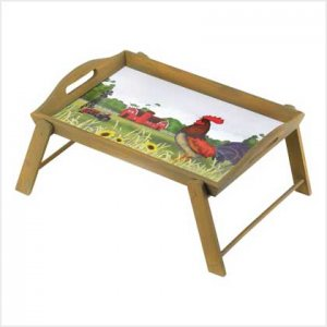 ROOSTER BED TRAY