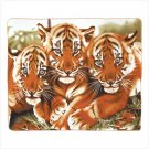 WILDLIFE TIGERS FLEECE BLANKET