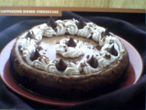 CAPPUCCINO KISSED CHEESCAKE RECIPE ~ SCRUMPTIOUS!!! ~