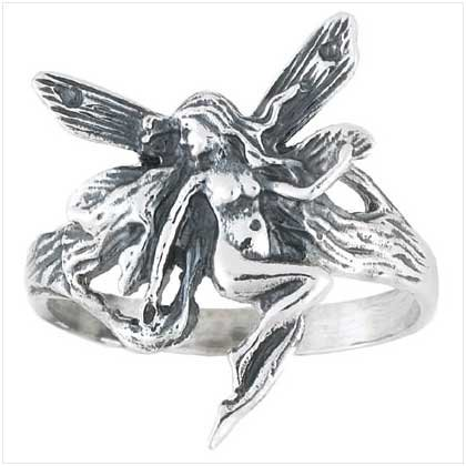 Fairy Sterling Silver Ring