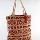 Fiji - Red Large Tote Bag