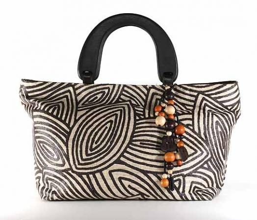 Gypsy - Tote Bag w/ Wood Handle