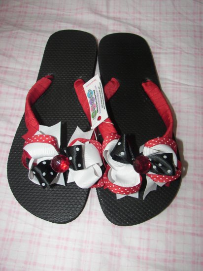 B62- Ribbon Flip-Flop: Adult 78