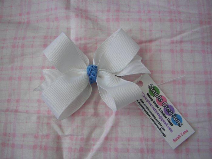 C21- White Boutique Bow