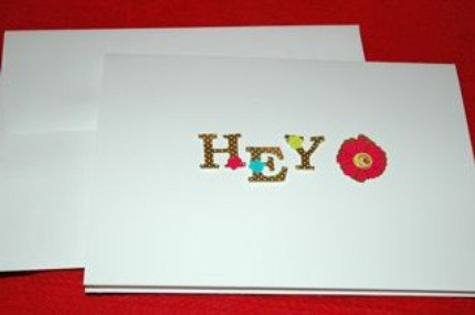 Say HEY Card!