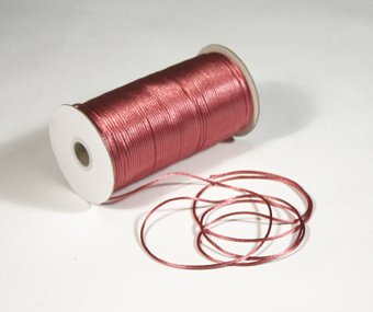 """1/8"""" Colonial Rose Satin Rat Tail Cord - 200 yds"""