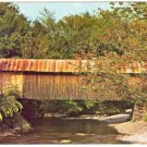 COVERED BRIDGE BELVIDERE CORNERS CAMBRIDGE JCT VT 1960 POSTCARD