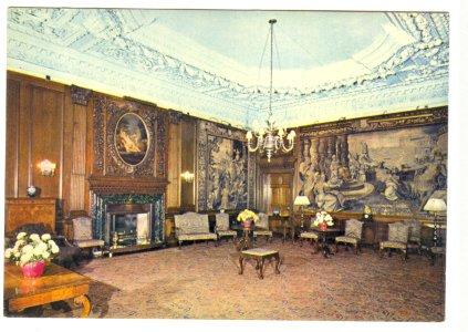 PALACE OF HOLYROODHOUSE MORNING DRAWING ROOM UNITED KINGDOM UK ENGLAND POSTCARD