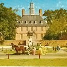 HORSE & CARRAIGE GOVERNORS PALACE WILLIAMSBURG VIRGINIA POSTCARD