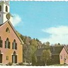1960 TIMOTHY FROST METHODIST CHURCH THETFORD CENTER VERMONT POSTCARD