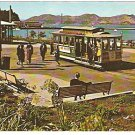 ca 1960 SAN FRANCISCO MARITIME PARK & TROLLEY CAR POSTCARD