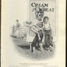 ORIGINAL 1918 HUCK FINN CREAM OF WHEAT AD W/ TOM SAWYER AUNT POLLY & RASTUS + GOLD MEDAL FLOUR AD