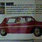 ORIGINAL 1963 PLYMOUTH FURY 3-PANEL LIFE MAGAZINE AD