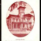 VICTORIA MANSION THE RUGGLES SYLVESTER MORSE HOUSE PORTLAND MAINE 1950 AD POST CARD