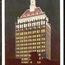 NIGHT TIME VIEW EASTMAN KODAK BUILDING ROCHESTER NY NEW YORK 1950 POST CARD