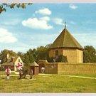 MAGAZINE & GUARDHOUSE WILLIAMSBURG VA VIRGINIA 1960 POST CARD