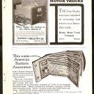 Original 1918 A.B.A. CHEQUES + YAWMAN ERBE OFFICE FILING SYSTEM AD