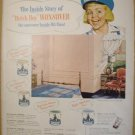 COLORFUL 1949 DUTCH BOY WONSOVER PAINT + OLD GRAND-DAD WHISKEY ADS