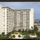 BIRDS EYE VIEW CORAL RIDGE TOWERS SOUTH FORT LAUDERDALE FLORIDA 1960 POST CARD